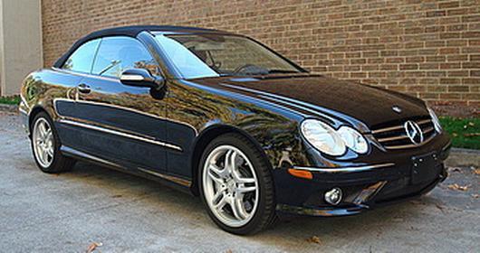 Inventaire: Mercedes-Benz Classe CLK 550 AMG Cabriolet