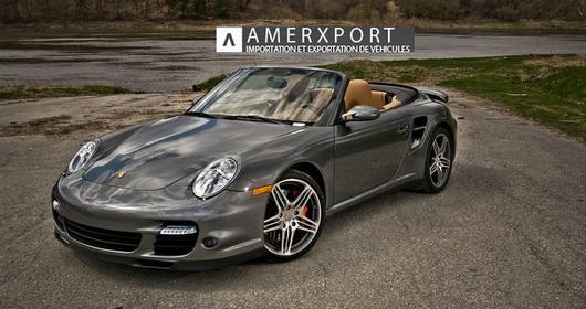 À vendre : Porsche 911 Turbo 2008 Convertible