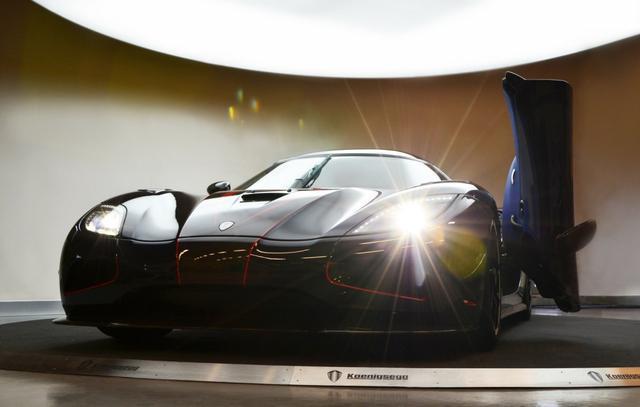 La douane chinoise saisi une Koenigsegg Agera R BLT