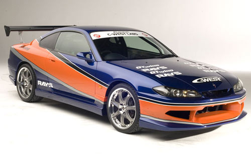 Nissan Silvia S15 from Tokyo Drift