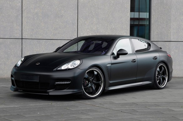 Porsche Panamera Turbo Black Edition par TechArt