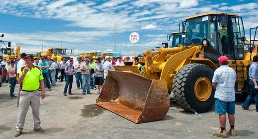 Euro Auctions s'établie aux États-Unis: encant de machineries de constructions et d'équipements industriels