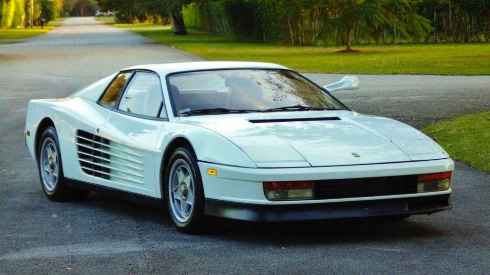 La Ferrari Testarossa de Miami Vice en vente sur Ebay Motor